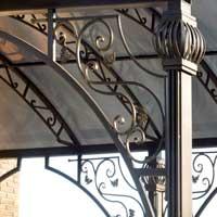 Арочный кованый навес, арт.: НА-01