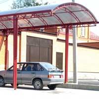 Кованый навес для машины, автомобильный навес, арт.: НА-24